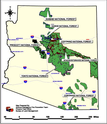 usfs. | Arizona Interagency Wildfire Prevention